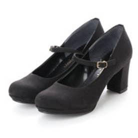 トゥインクトゥインク twinktwink 婦人靴 (ブラックスエード)