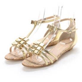 トゥインクトゥインク twinktwink 婦人靴 (ゴールド)