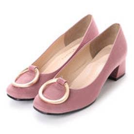 バニティービューティー vanitybeauty リングパーツパンプス (ピンク)