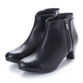 バニティービューティー vanitybeauty サイドジップデザインブーツ (ブラック)