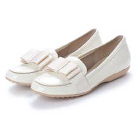 バニティービューティー vanitybeauty 婦人靴 (アイボリーエナメル)