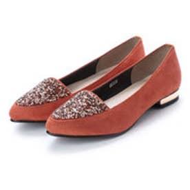 バニティービューティー vanitybeauty 婦人靴 (オレンジスエード)