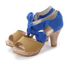 バニティービューティー vanitybeauty 婦人靴 (ブルーコンビ)