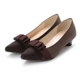 バニティービューティー vanitybeauty 婦人靴 (ダークブラウンスエード)