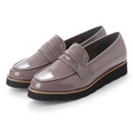 バニティービューティー vanitybeauty 婦人靴 (グレーエナメル)