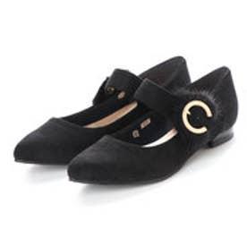 バニティービューティー vanitybeauty 婦人靴 (ブラックスエード)
