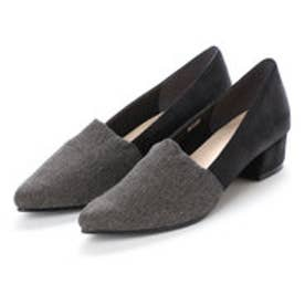 バニティービューティー vanitybeauty 婦人靴 (グレーコンビ)