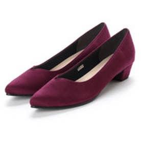 バニティービューティー vanitybeauty 婦人靴 (パープルスエード)