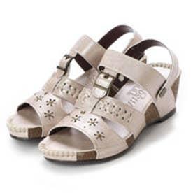 ウイルソンリー WILSON LEE 婦人靴 (ベージュ)