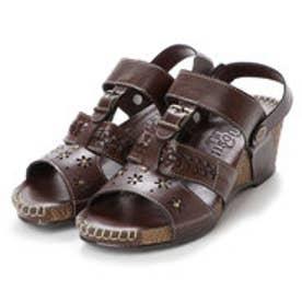 ウイルソンリー WILSON LEE 婦人靴 (ブラウン)