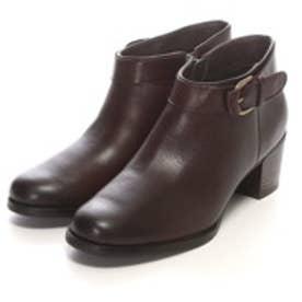ベルフローリー BELL FLORRIE アンクル丈ブーツ 473F65136 (DBR)
