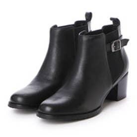 ベルフローリー BELL FLORRIE サイドゴアショートブーツ (ブラック)