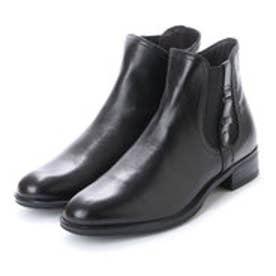 ベルフローリー BELL FLORRIE ベルフローリー アクセントショートブーツ (ブラック)