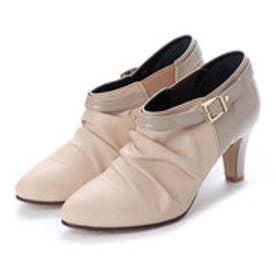 ピニャココ pinyacoco ブーツ(撥水加工) (ベージュ)