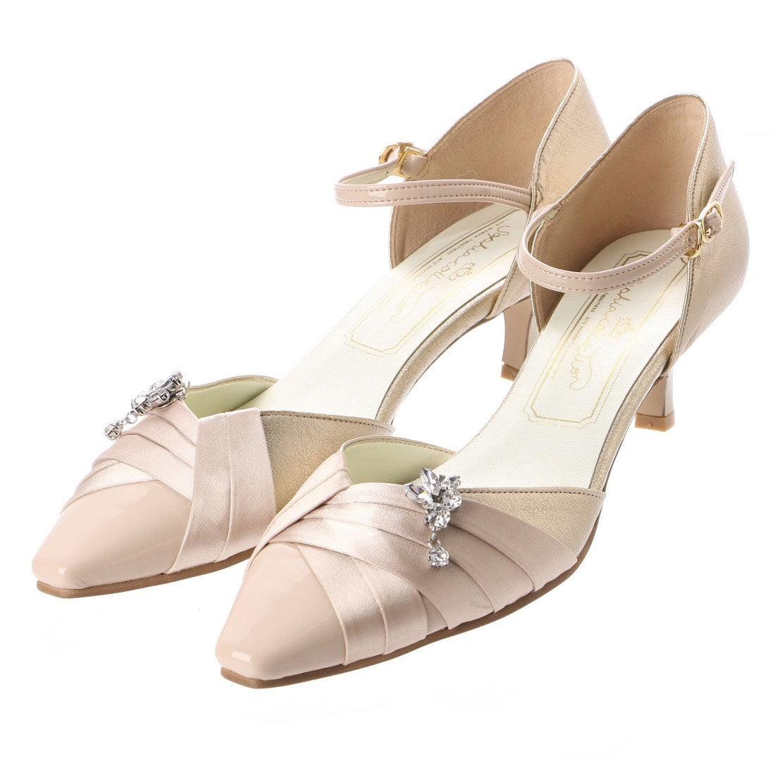 ロコンド 靴とファッションの通販サイトソフィアコレクションSophiacollectionブライダルパンプス(ゴールド)