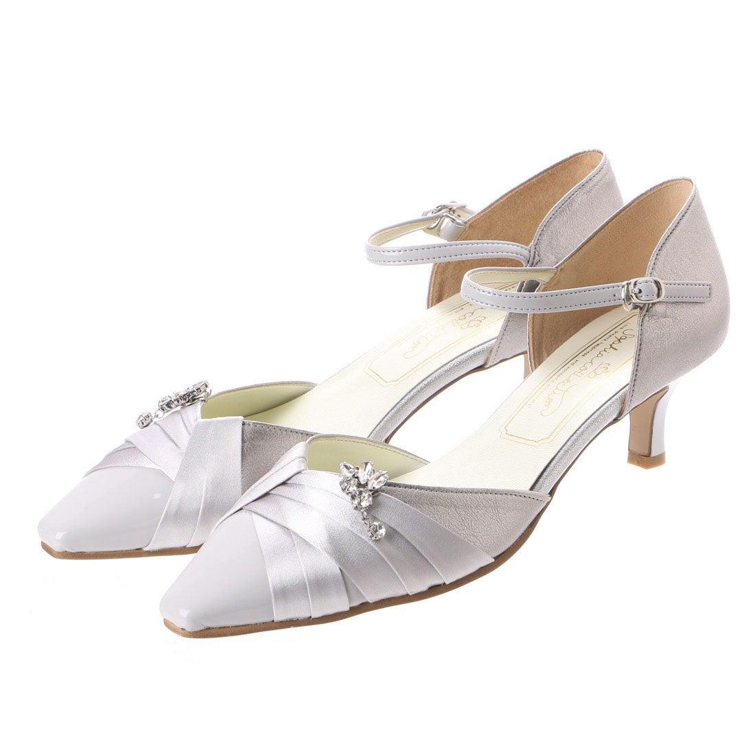 ロコンド 靴とファッションの通販サイトソフィアコレクションSophiacollectionブライダルパンプス(シルバー)