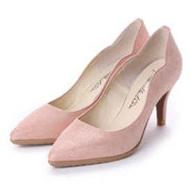 ソフィアコレクション Sophia collection サイドスカラップカッティングパンプス (ピンク)