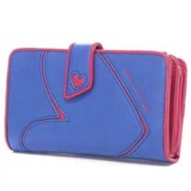 アガタ ルイス デ ラ プラダ AGATHA RUIZ DE LA PRADA ポケットたくさん大容量財布レギュラー (ブルー)