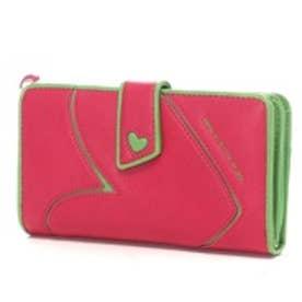 アガタ ルイス デ ラ プラダ AGATHA RUIZ DE LA PRADA ポケットたくさん大容量財布レギュラー (フーシャ)