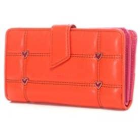 アガタ ルイス デ ラ プラダ AGATHA RUIZ DE LA PRADA ポケットたくさん大容量財布レギュラー (オレンジ)