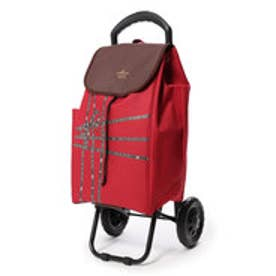 ホールマーク Hallmark ホールマーク折りたたみ可リボンテープ柄ショッピングカート (RED)