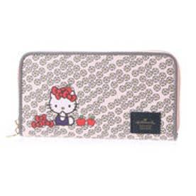 ホールマーク Hallmark 【ハローキティコラボ】ラウンドファスナー財布 (PINK)