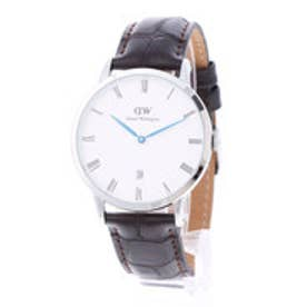 ダニエル ウェリントン Daniel Wellington Dapper York Silver 38mm (D/BROWN)