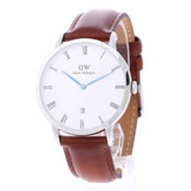 ダニエル ウェリントン Daniel Wellington Dapper St Mawes Silver 38mm (BROWN)