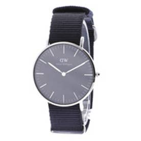 ダニエル ウェリントン Daniel Wellington CLASSIC BLACK Cornwall Silver 36mm (BLACK)