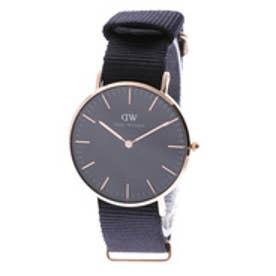 ダニエル ウェリントン Daniel Wellington CLASSIC BLACK Cornwall Rose gold 36mm (BLACK)