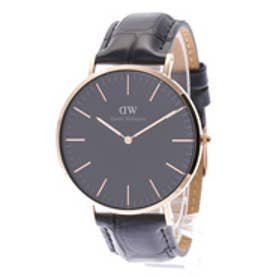ダニエル ウェリントン Daniel Wellington CLASSIC BLACK Reading Rose gold 40mm (BLACK)