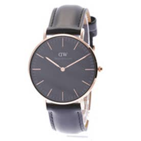 ダニエル ウェリントン Daniel Wellington CLASSIC BLACK Sheffield Rose gold 36mm (BLACK)