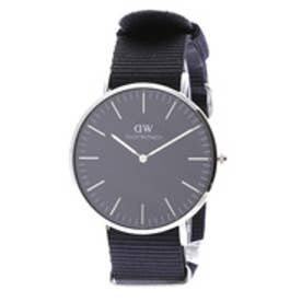 ダニエル ウェリントン Daniel Wellington CLASSIC BLACK Cornwall Silver 40mm (BLACK)