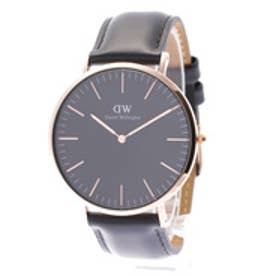 ダニエル ウェリントン Daniel Wellington CLASSIC BLACK Sheffield Rose gold 40mm (BLACK)