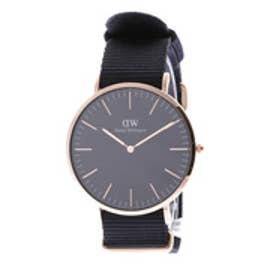ダニエル ウェリントン Daniel Wellington CLASSIC BLACK Cornwall Rose gold 40mm (BLACK)