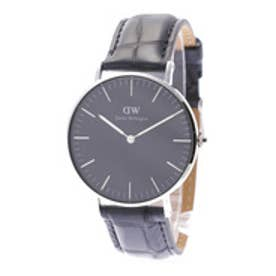 ダニエル ウェリントン Daniel Wellington CLASSIC BLACK Reading Silver 36mm (BLACK)