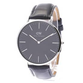 ダニエル ウェリントン Daniel Wellington CLASSIC BLACK Reading Silver 40mm (BLACK)