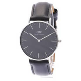 ダニエル ウェリントン Daniel Wellington CLASSIC BLACK Sheffield Silver 36mm (BLACK)