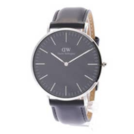 ダニエル ウェリントン Daniel Wellington CLASSIC BLACK Sheffield Silver 40mm (BLACK)