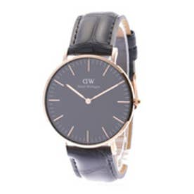 ダニエル ウェリントン Daniel Wellington CLASSIC BLACK Reading Rose gold 36mm (BLACK)