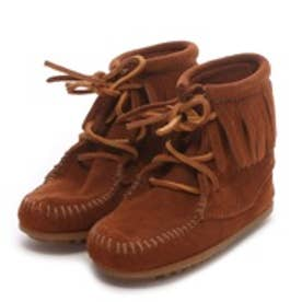 【Kid's】ミネトンカ MINNE TONKA ANKLE HI TRAMPER BOOT(Brown)