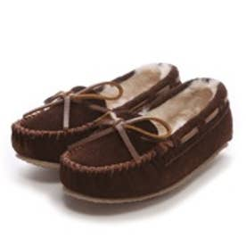 【Kid's】ミネトンカ MINNE TONKA CASSIE SLIPPER(Chocolate)