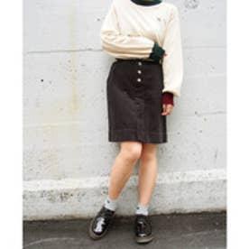 179ダブルジー 179/WG フロントボタンボックススカート (39チャコールグレー)