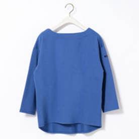グランドパーク Grand PARK デラヴェ天竺長袖Tシャツ (60ブルー)