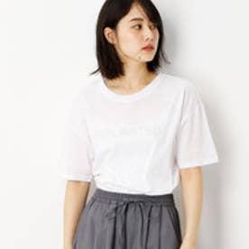 グランドパーク Grand PARK 刺繍ロゴ入り半袖Tシャツ (09ホワイト)