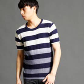 ハイダウェイ HIDEAWAYS グラデーションニットTシャツ (94その他5)