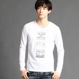 ハイダウェイ HIDEAWAYS ロゴプリントTシャツ (09ホワイト)