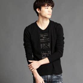 ハイダウェイ HIDEAWAYS ロゴプリントTシャツ (49ブラック)