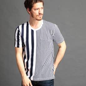 HIDEAWAYS ロープジャガードボーダーTシャツ (92その他3)