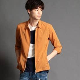 HIDEAWAYS 7分袖ドリズラージャケット (10オレンジ)
